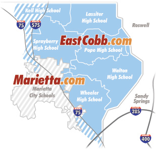 East-Cobb-Schools-Map